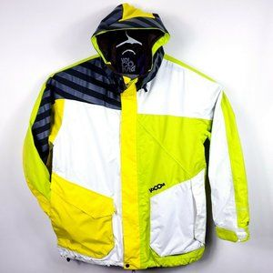Volcom Mens XL Jacket Ski Snowboard Winter Zip Up